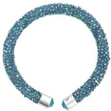 Sparkle dust cuff bracelet kit - teal